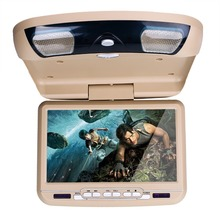 9inch roof mounted car dvd player with DVD/USB/SD/FM/game/IR