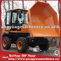 selfloading site dumper with turning bucket