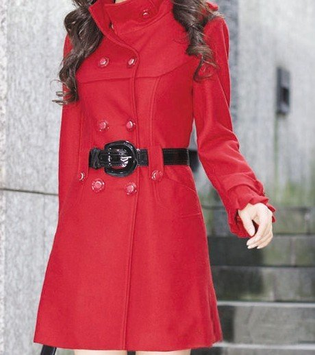 Red Wool Coat Uk, Red Wool Coat Uk Suppliers and Manufacturers at ...