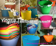 cheap plastic garden buckets/storage buckets/PE buckets,household products