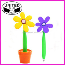 cheap novelty flower pen for promotion