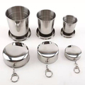 201/301SS Stainless Steel Foldable cup, stainless steel small travel mugs