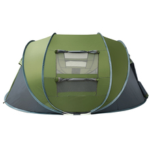 LY11 Adult Outdoor Automatic Speed Open Throwing Pop Up Windproof Sun Protection Large Family Camping Hiking <strong>Tent</strong>