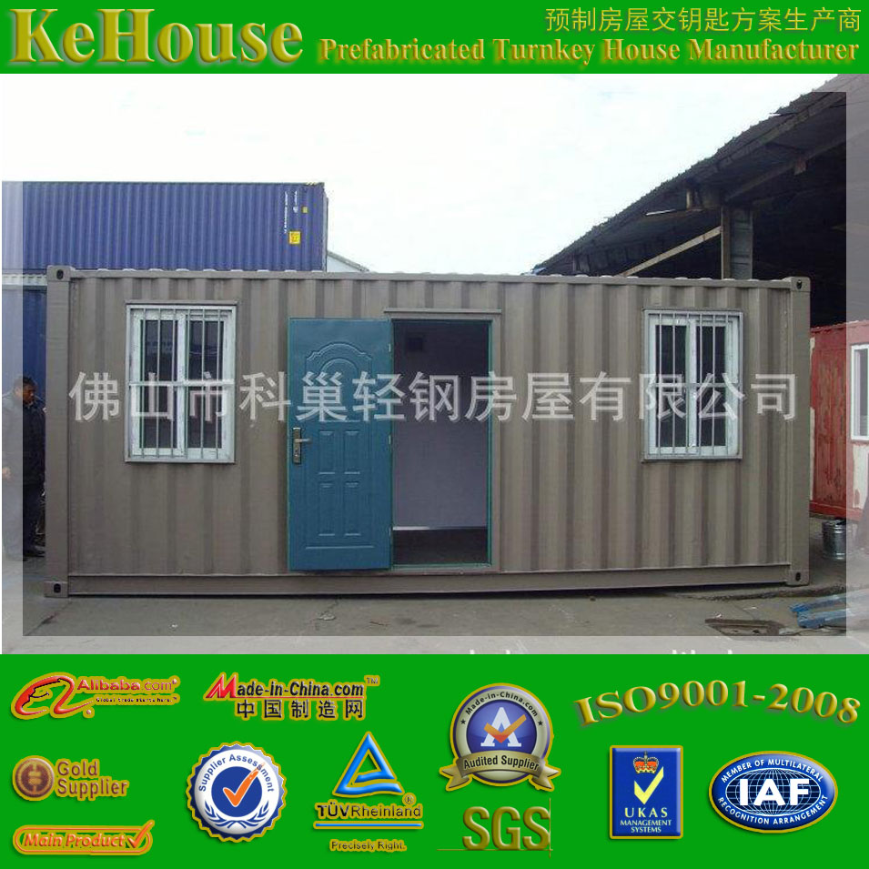 20GP or 40HQ modified shipping container for house,office,shop,storage