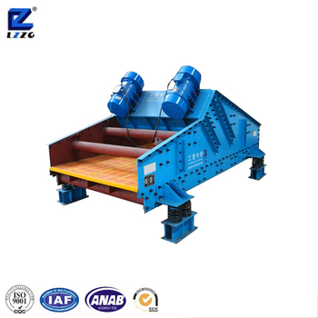 High efficiency vibrating dewatering screen machine