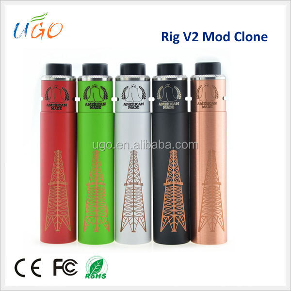 New Arrival Vape Mechanical Mod Rig V2 Clone With Factory Price