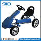 Kids pedal go kart Steel Frame china pedal go karts with 8 inch EVA wheels