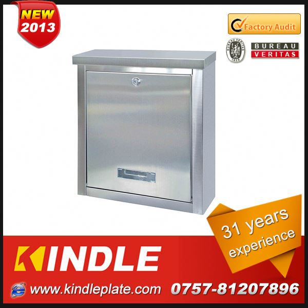 Kindle modern wall mounted OEM & ODM High Quality postal boxes for sale with 31 years experience