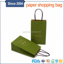 Cheap custom led logo design paper packaging bag deep price cut paper bags with logo print