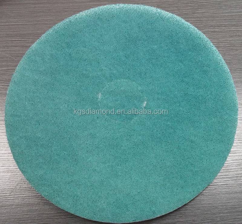 KGS diamond flexible FM pads floor cleaning disk marble floor polishing abrasive tools concrete buffing