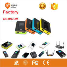 portable 5200mAh power bank 3g 4g wifi travel router sim card modem wireless mobile Hotspot