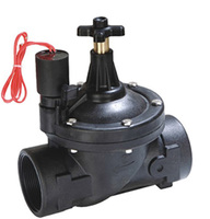 2 way with flow control plastic 2 inch water solenoid valve for irrigation