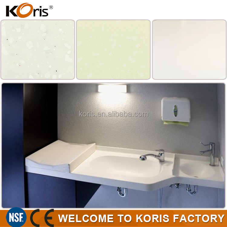 solid surface lowes bathroom countertops