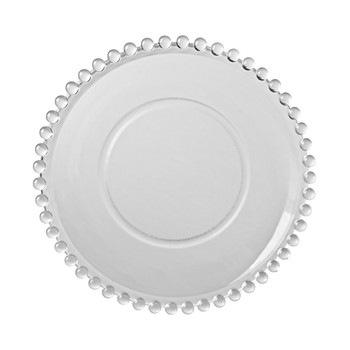 CLEAR DINNER PLATE