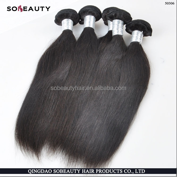 Latest 2016 Products Can Be Dyed High Quality Top Grade 100% Human Virgin Indian Woman Long Hair Sex