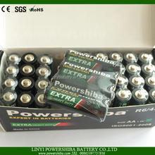 China Factory Offer Toys Battery Size AA R6 Battery