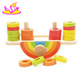 wholesale educational baby wooden balance bricks toys W11F057