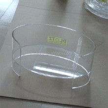 oval clear easy to sweeping acrylic dog bed basket