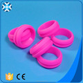 Factory cheap price fashion design silicone wedding ring
