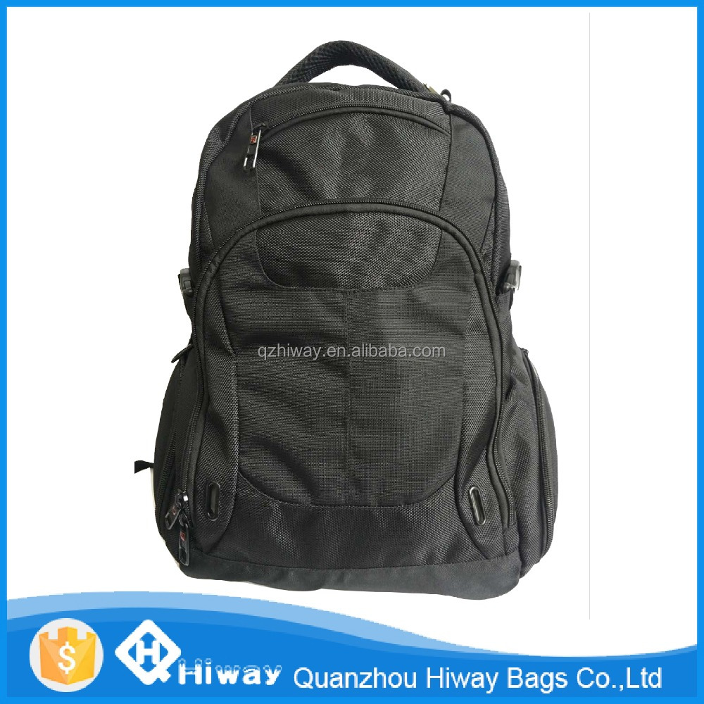 wholesale fashion laptop school backpacks high quality nylon backpacks