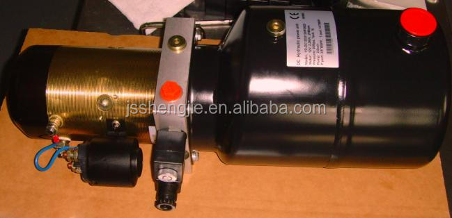 a8060 forklift hydraulic solar power pack 12v dc motor factory price / manufacturers in China