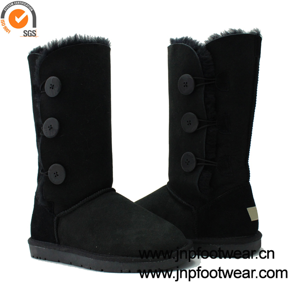 Awesome NEW WOMENS LADIES ANKLE BUCKLE LOW HEEL NON SLIP WINTER ARMY BOOTS SHOES SIZE | EBay