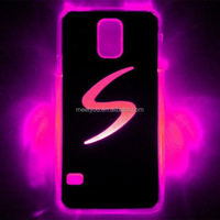 wholesale led flashlight custom selfie light up case led cell phone case for samsung note 3