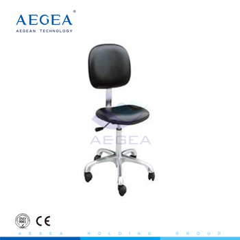 AG-NS005 with backrest price stainless steel banquet chair medical stool