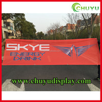 Custom Printed Polyester Fabric Banner Flag