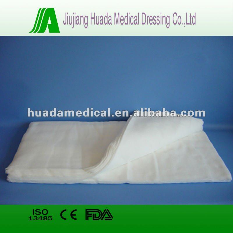 New Products 2016 Medical Absorbent Zig Zag Gauze