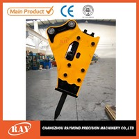 Gynatec hydraulic rock breaker hammer with rock drill