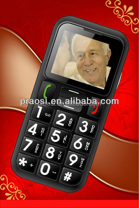 low price seniors mobile phone dual sim cards quad band gsm 850 900 1800 1900 mhz