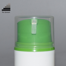 Diverse grootte draagbare pp crème airless fles