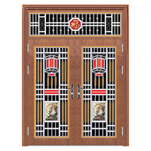 Excellent Quality Kingdom Doors Steel Door Low Price Steel Entry Doors