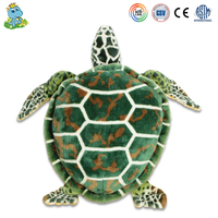 Cute sea turtle animal child toys plush toy manufacturer