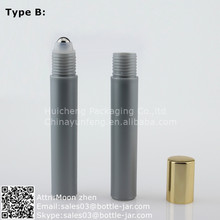 15ML grey pen type perfume refill bottle design with roller ball