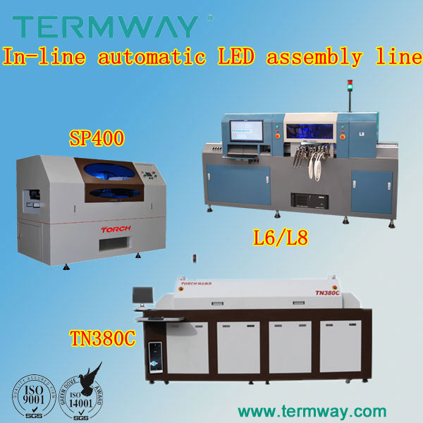 SP400 SMT automatic high cost-effective solder paste stencil printing machine