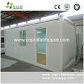 widely use steel prefabricated container house low price