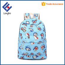 Full printing cute cartoon school book bag anime teenage school bags and backpacks