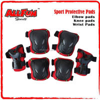 Skateboard skateboarding Protective Pad 6Pcs Knee Protector / Wrist Guard / Elbow Support
