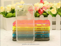 New arrival square lines design transparent slim TPU mobile phone case for iphone 6