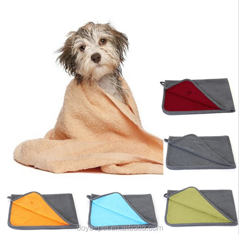 Pet Products Large Soft Cosy Warm Pet Towel Dog Cat Animal Blanket