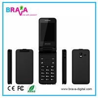 OEM 2.8 inch GSM flip dual sim mobile phone unlocked