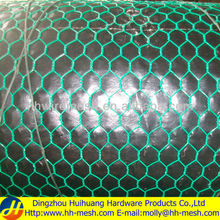 "1/2"" green pvc coated chicken wire mesh -Huihuang Factory-20 YEARS-skype amyliu0930"