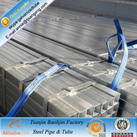 Zinc plate steel pre galvanized steel tube factory in China