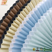 EV Honeycomb Blinds Fabric Lace Pleated Window Blinds Celluar Blinds