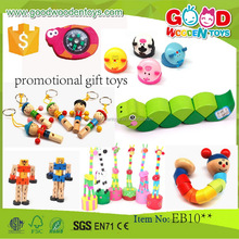 EN71/ASTM promotional gift toys for children OEM/ODM wooden colorful educational small toys