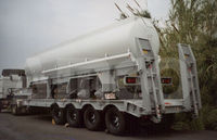 Low Bed Semi-Trailer 120T
