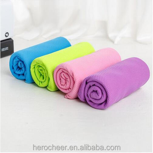 Blue Cooling Sport Towels Microfiber Fabric Quick-Dry Adult Running Fitness Yoga Climbing Outdoor Towel High Quality