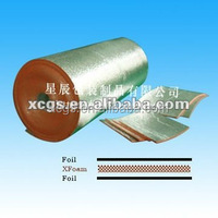 Reflective Fire Retardant Heat Insulating Material